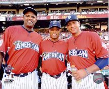 Robinson Cano, Alex Rodriguez & CC Sabathia 2010 All Star Game LIMITED STOCK New York Yankees 8X10 Photo