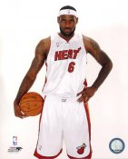 Lebron James LIMITED STOCK Miami Heat 8X10 Photo