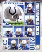 Colts 2010 Indianapolis Team 8X10 Photo