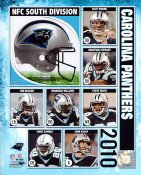 Panthers 2010 Carolina Team 8X10 Photo