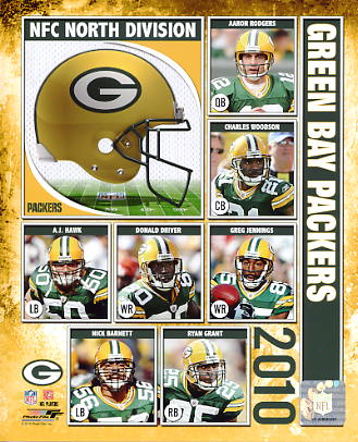 Packers 2010 Green Bay Team 8X10 Photo