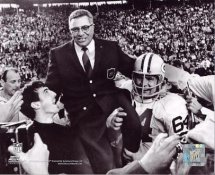 Vince Lombardi SuperBowl Packers Beat Raiders Green Bay Packers 8X10 Photo