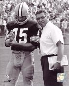 Vince Lombardi & Bart Starr Green Bay Packers 8X10