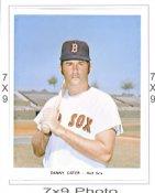 Danny Cater Red Sox 7x9 Original 1960-1970 Souvenir Photo 7X9 Photo