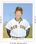 Lew Krausse Red Sox 7x9 Original 1960-1970 Souvenir Photo 7X9 Photo