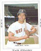 Reggie Smith Red Sox 7x9 Original 1960-1970 Souvenir Photo 7X9 Photo