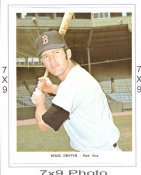 Doug Griffin Red Sox 7x9 Original 1960-1970 Souvenir Photo 7X9 Photo