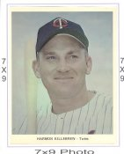 Harmon Killebrew Minnesota Twins 7x9 Original 1960-1970 Souvenir Photo 7X9 Photo