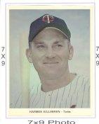 Harmon Killebrew Minnesota Twins 7x9 Original 1960-1970 Souvenir Photo 7X9 Photo