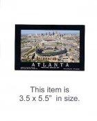 3.5X5.5 POSTCARD Turner Field 1st Game March 29,1997 Atlanta 3.5X5.5 POSTCARD