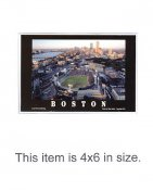 4X6 Fenway Park POSTCARD All Star Game 7/13/1999 Boston 4x6 POSTCARD