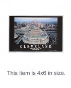 4X6 POSTCARD Cleveland Browns Stadium 1st Game 8/21/1999 Cleveland 4x6 POSTCARD