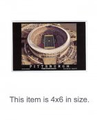 4X6 POSTCARD Three Rivers Stadium Final Season 2001 Pittsburgh Steelers 4x6 POSTCARD