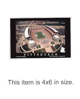 4X6 POSTCARD Heinz Field Opening Game 8/25/2001 Pittsburgh Steelers 4x6 POSTCARD