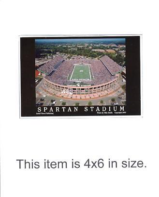 4X6 POSTCARD Spartan Stadium Michigan State 4x6 POSTCARD