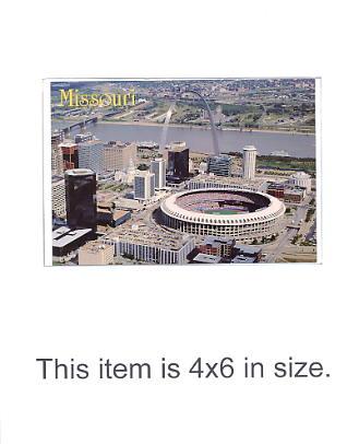 4X6 POSTCARD Missouri St. Louis 4x6 POSTCARD