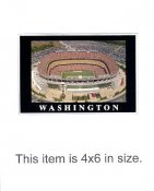 4X6 POSTCARD FedEx Field Washington Redskins 4x6 POSTCARD