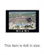 4X6 POSTCARD Pro Player Stadium Miami 4x6 POSTCARD