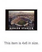 4X6 POSTCARD Dodger Stadium LA 4x6 POSTCARD