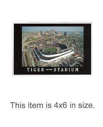 4X6 POSTCARD Tiger Stadium Final Day 9/27/1999 Detroit Tigers 4x6 POSTCARD