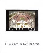 4X6 POSTCARD Raymond James Stadium Tampa Bay Bucs 4x6 POSTCARD