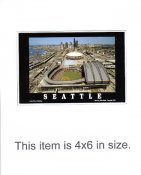 4X6 POSTCARD Safeco Field 7/31/1999 Seattle 4x6 POSTCARD
