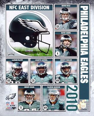 Eagles 2010 Philadelphia Team 8x10 Photo