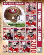 49ers 2010 Team San Francisco  8X10 Photo