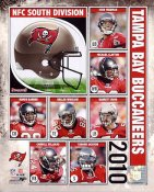 Buccaneers 2010 Tampa Bay Team 8x10 Photo