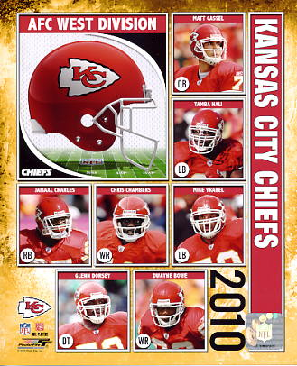 Chiefs 2010 Kansas City Team 8x10 Photo