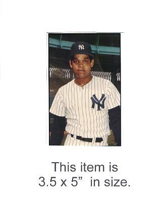 3.5X5 POSTCARD Vic Mata NY Yankees 1986 Original TCMA 3.5X5 POSTCARD