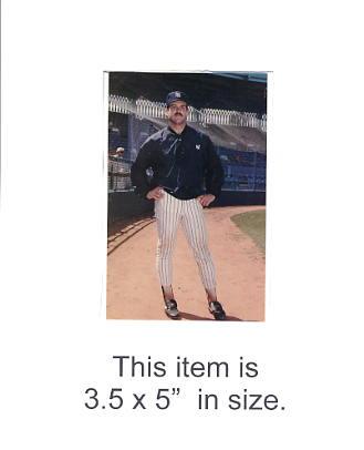 3.5X5 POSTCARD Bob Shirley NY Yankees 1986 Original TCMA 3.5X5 POSTCARD