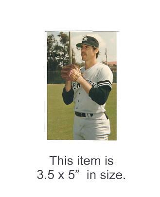 3.5X5 POSTCARD Gary Roenicke NY Yankees 1986 Original TCMA 3.5X5 POSTCARD