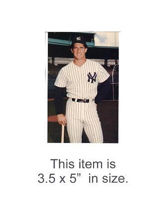 3.5X5 POSTCARD Mike Pagliarulo NY Yankees 1986 Original TCMA 3.5X5 POSTCARD