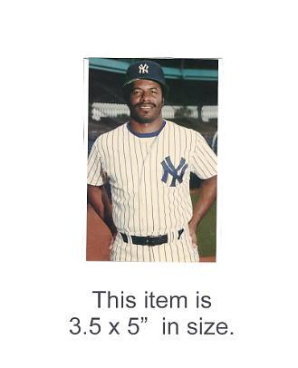 3.5X5 POSTCARD Ken Griffey NY Yankees 1986 Original TCMA 3.5X5 POSTCARD