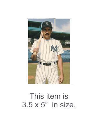 3.5X5 POSTCARD Henry Cotto NY Yankees 1986 Original TCMA 3.5X5 POSTCARD