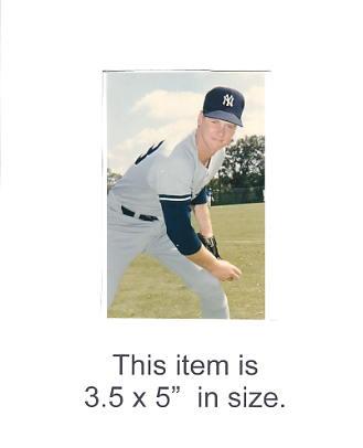 3.5X5 POSTCARD Brad Arnsburg NY Yankees 1986 Original TCMA 3.5X5 POSTCARD