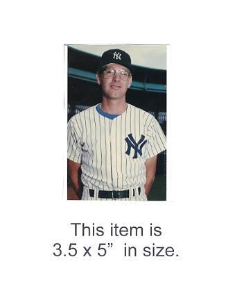 3.5X5 POSTCARD Mike Armstrong NY Yankees 1986 Original TCMA 3.5X5 POSTCARD