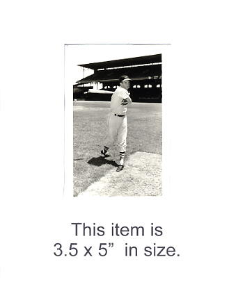 3.5X5 Brooks Robinson Photo By George Brace Orioles 3.5X5 Photo