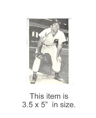 3.5X5 Jim Rivers RedSox 3.5X5 Photo