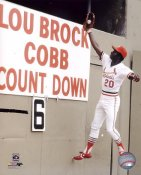 Lou Brock St. Louis Cardinals 8X10 Photo