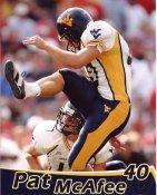 Pat McAfee West Virginia University 8X10 Photo