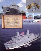 USS New York 8X10 Photo