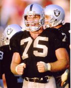 Howie Long Oakland Raiders 8X10 Photo