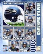 Seahawks 2010 Seattle LIMITED STOCK 8x10 Photo