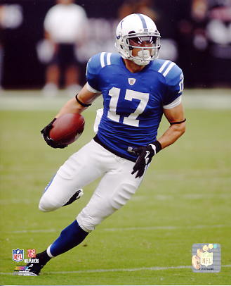 Austin Collie Indianapolis Colts 8X10 Photo