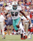 Karlos Dansby Miami Dolphins 8X10 Photo