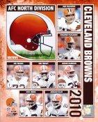 Browns 2010 Cleveland Team 8x10 Photo