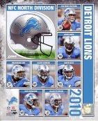 Lions 2010 Detroit Team 8X10 Photo