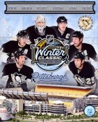 Penguins 2011 Winter Classic Pittsburgh 8x10 Photo
